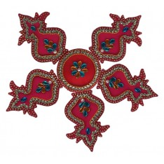 Assorted Rangoli Decoration Set, Small