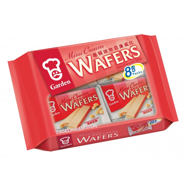 Garden Peanut Mini Wafers, 8s