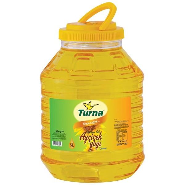 Turna Sunflower Oil, 5L