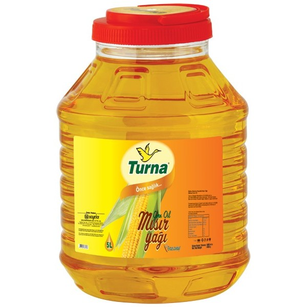 Turna Corn Oil, 5L