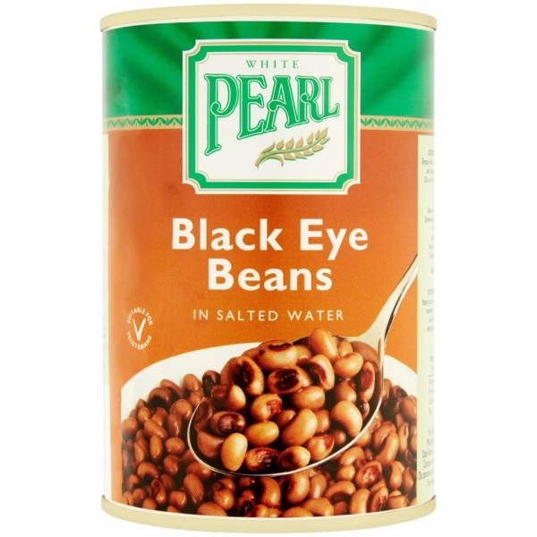 White Pearl Black Eye Beans