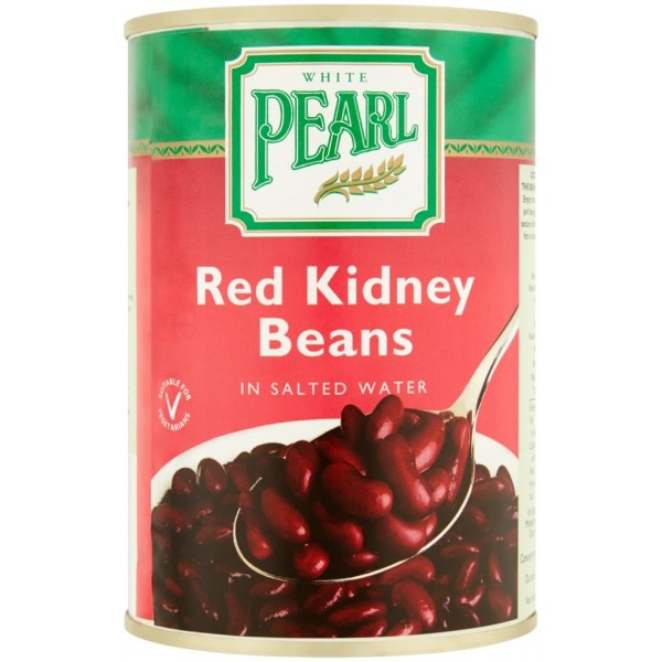 White Pearl Red Kidney Beans