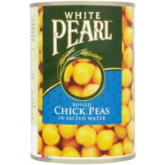 White Pearl Boiled Chickpeas