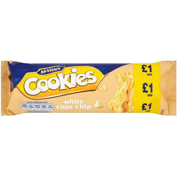 Mcvitie's White Choc Chip Cookies