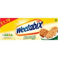 Weetabix Banana, 12s