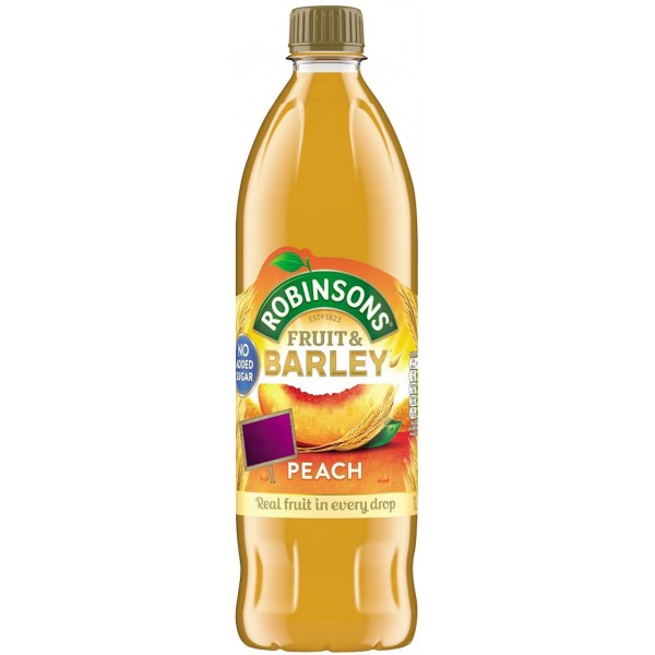 Robinsons Peach Fruit & Barley