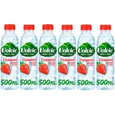 Volvic Touch Of Fruit Strawberry 6 x 500ml