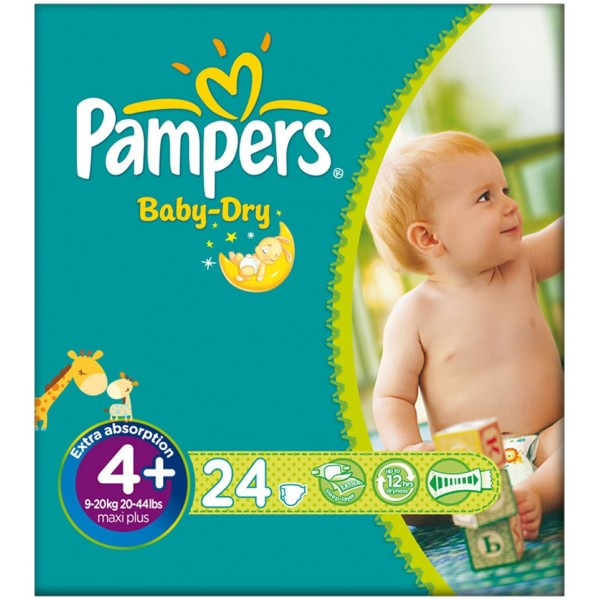 Pampers Baby Dry Maxi Plus