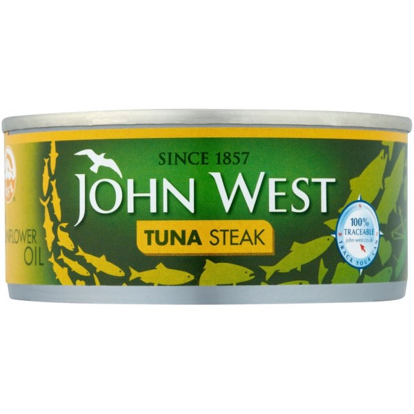 John West Tuna Steak In Oil