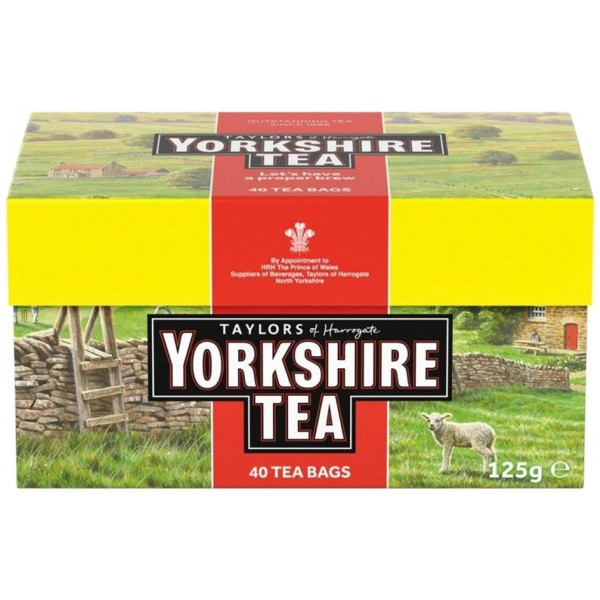 Yorkshire Tea Bags, 40s