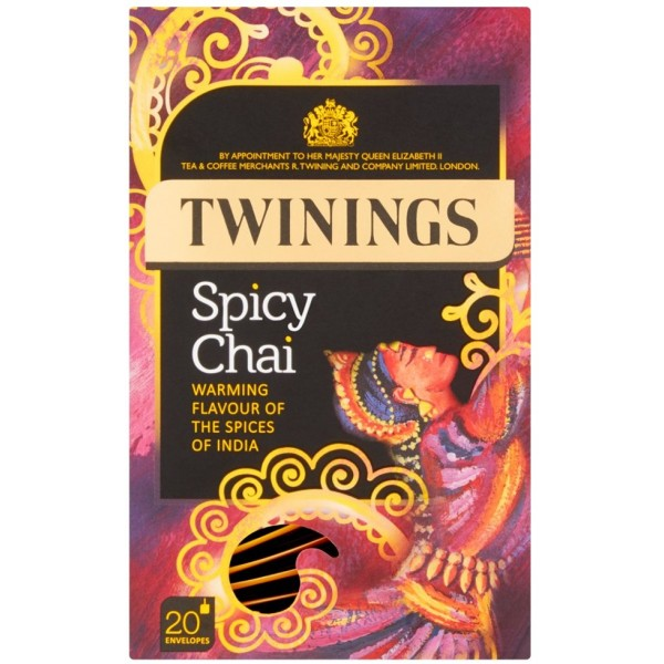 Twinings Spicy Chai, 20s