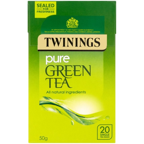 Twinings Pure Green Tea, 20s