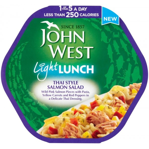 John West Light Lunch Salmon