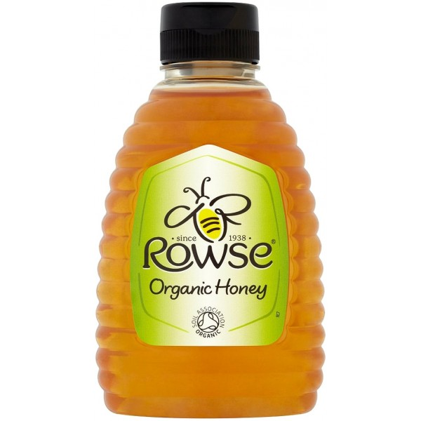 Rowse Squeezy Organic Honey