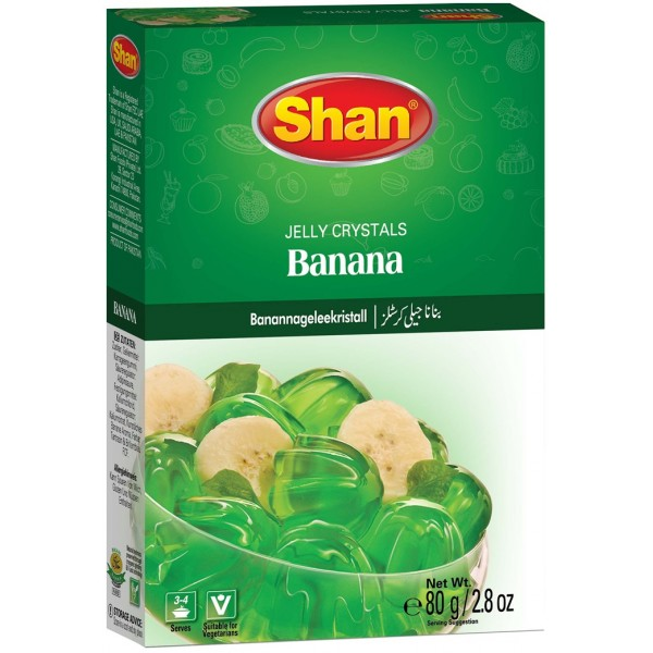 Shan Banana Jelly Crystals