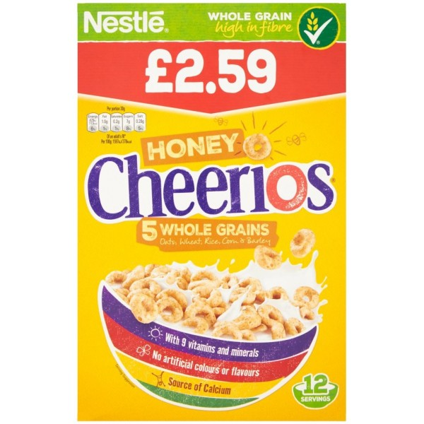 Cheerios Honey