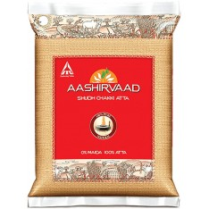 Aashirvaad Whole Wheat Flour, 5KG