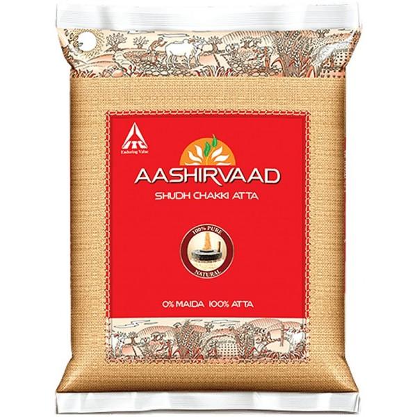 Aashirvaad Whole Wheat Atta, 5KG