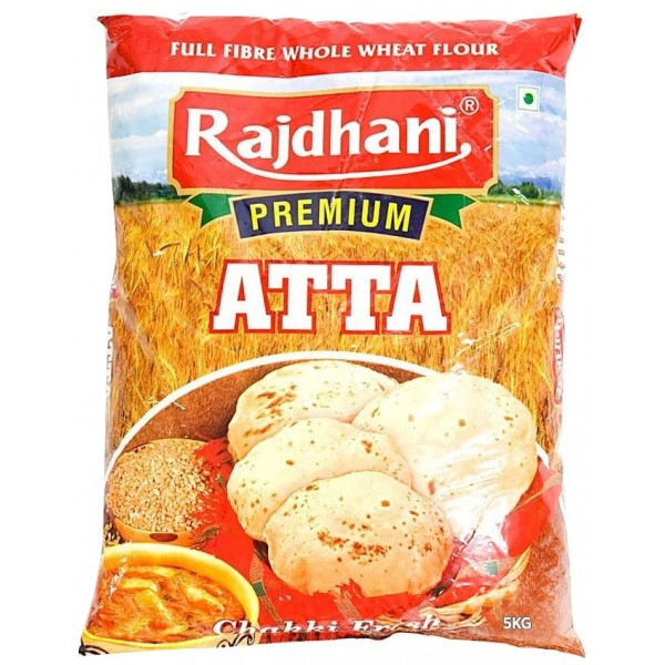 Rajdhani Whole Wheat Flour 5 KG