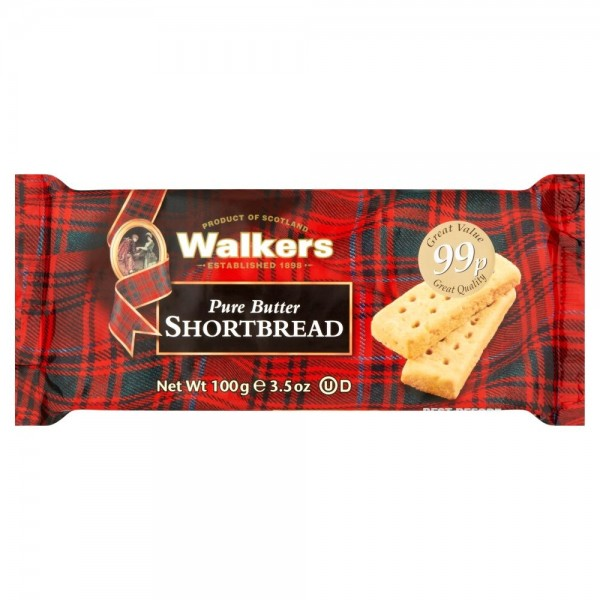 Walkers Shortbread Fingers, 100g