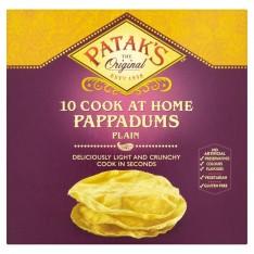 Patak's Plain Pappadum