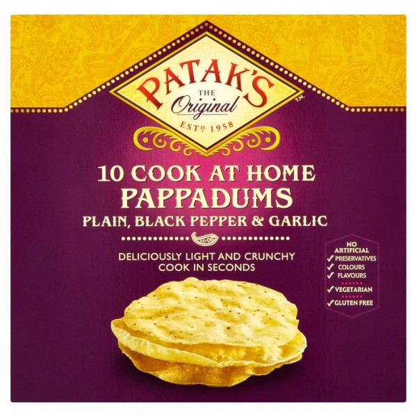 Patak's Assorted Pappadum