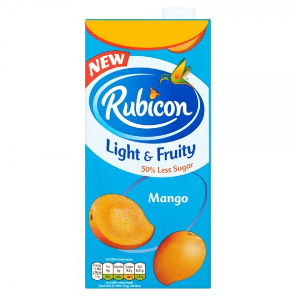 Rubicon Mango & Coconut Light