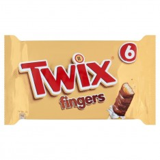 Twix Fingers, 6 Pack