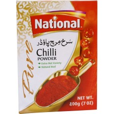 National Red Chilli Powder, 400g