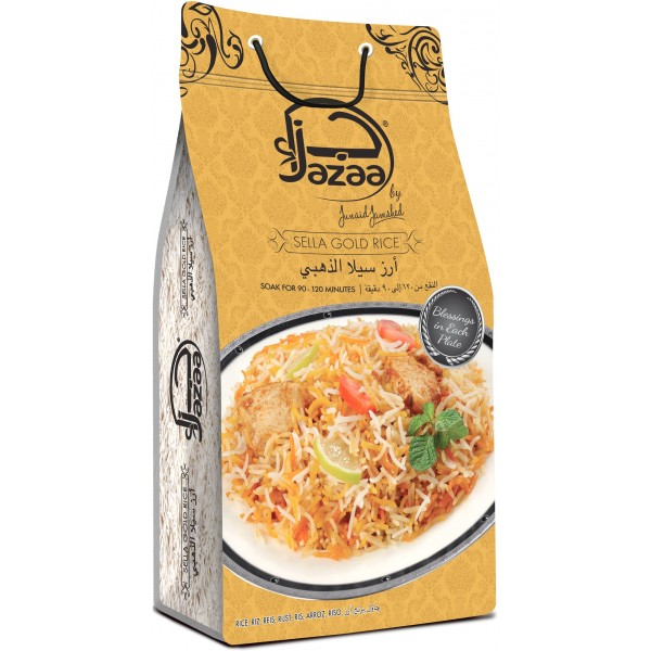 Jazaa Sela Gold Basmati Rice 5KG