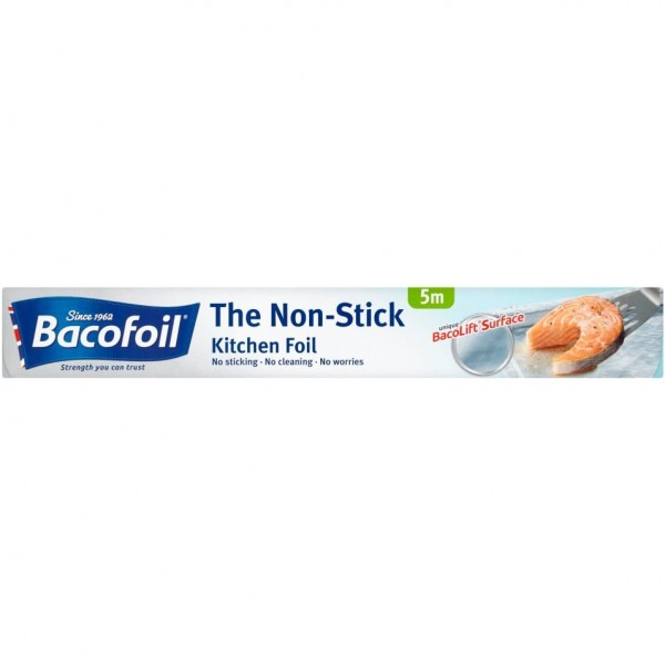 Bacofoil Nonstick Kitchen Foil, 5m