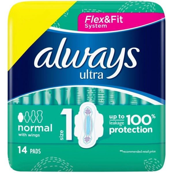 Always Ultra Normal Plus, 14s