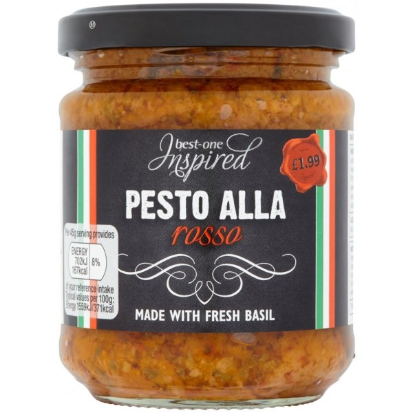 Inspired Red Pesto