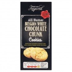 Inspired White Chocolate Cookies