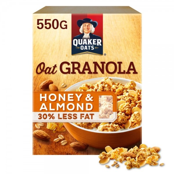 Quaker Oats Honey & Almond Granola