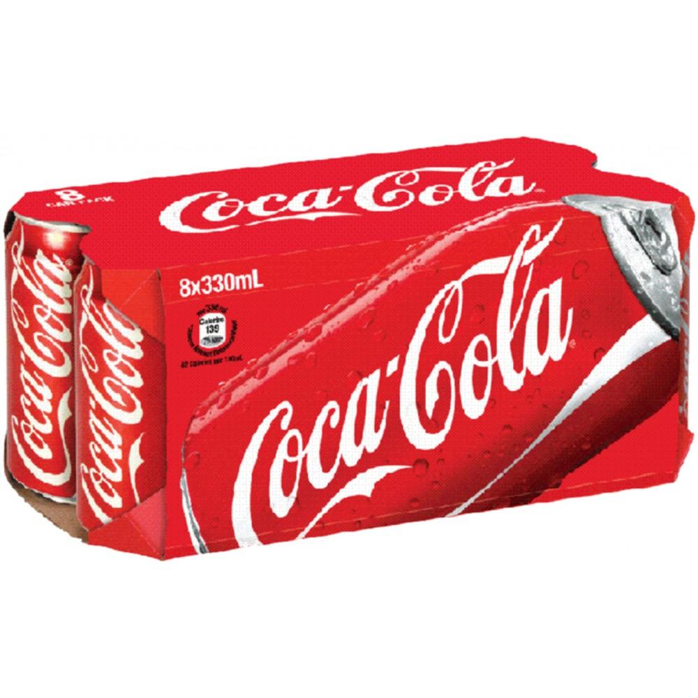Coca Cola 330ml x 8