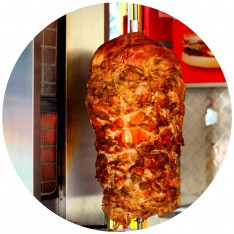 Fully Cooked Chicken Shawarama, 2KG