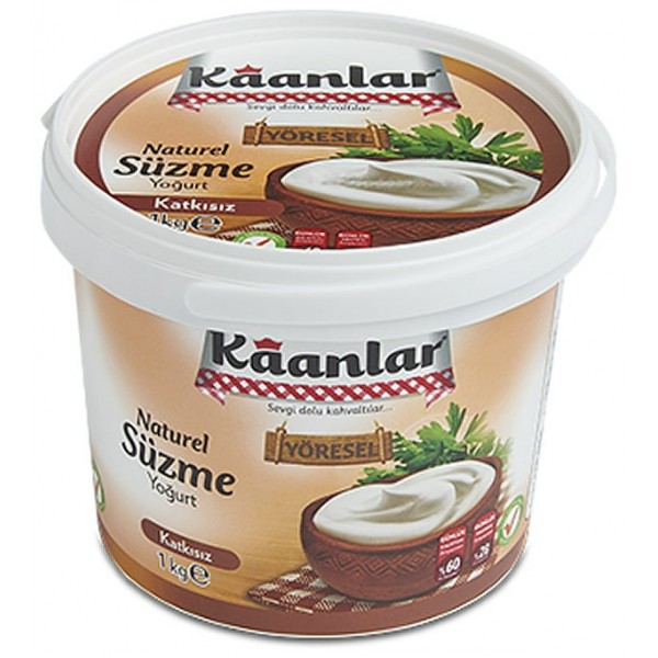 Kaanlar Strained Yogurt, 1KG