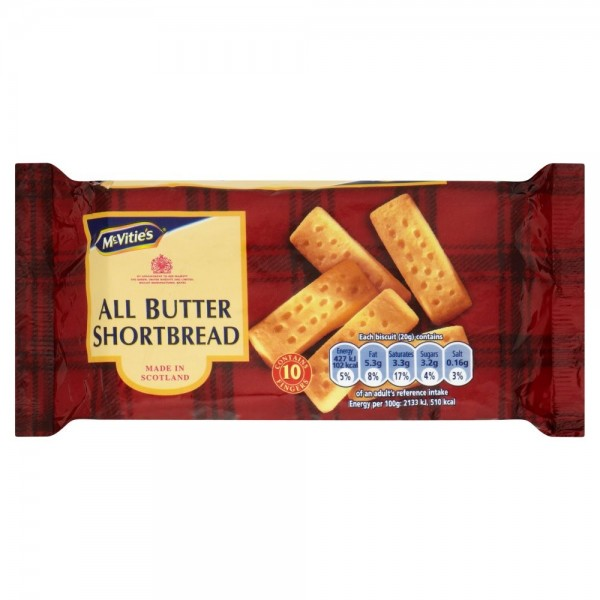 Mcvitie's All Butter Shortbread