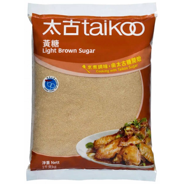 Taikoo Light Brown Sugar, 1kg