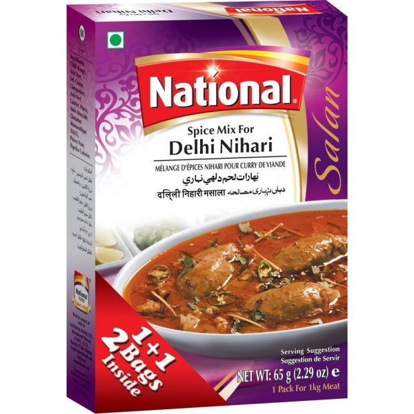 National Delhi Nihari Curry Mix
