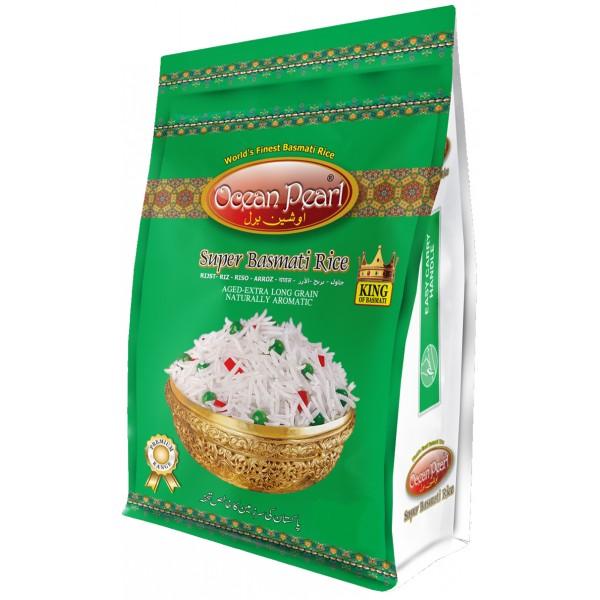 Ocean Pearl Super Basmati Rice, 5KG