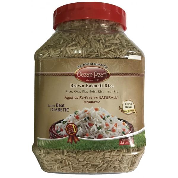 Ocean Pearl Brown Basmati Rice, 1KG