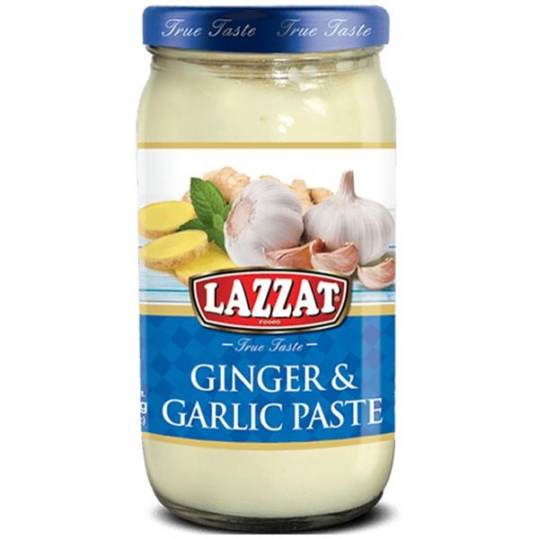 Lazzat Ginger & Garlic Paste, 340g