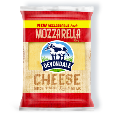 Devondale Shredded Mozzarella Cheese, 2KG