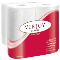 Virjoy Spongiest Kitchen Towel, 4s