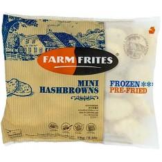Farm Frites Hash Browns, 1KG