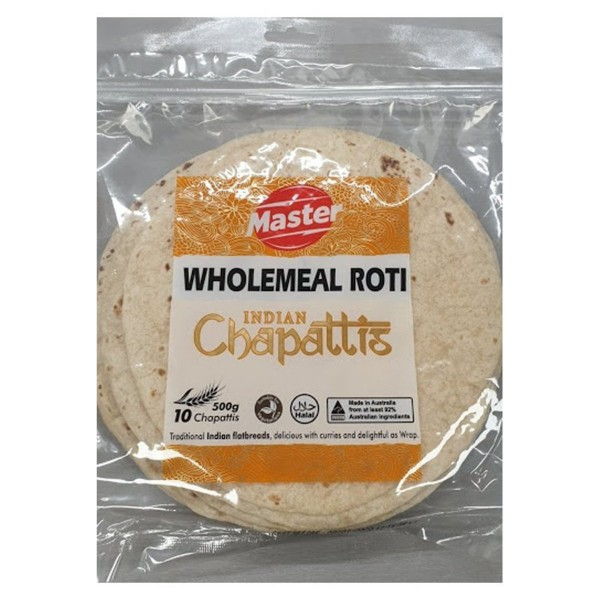 Master Wholemeal Roti, 10s