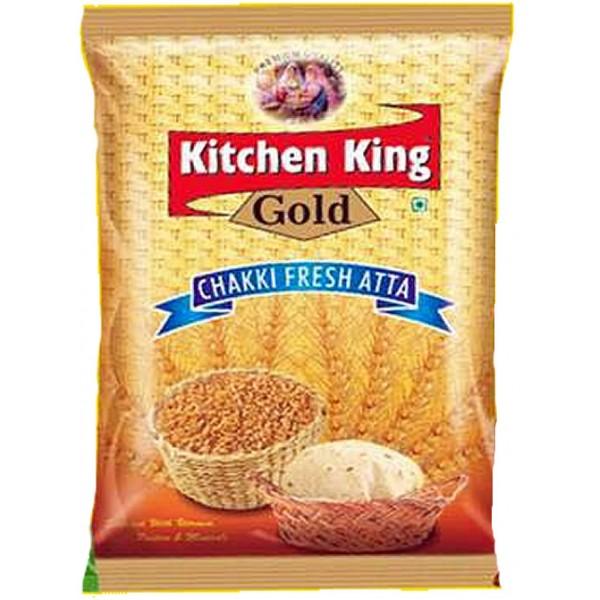 Kitchen King Gold Chakki Atta, 2KG