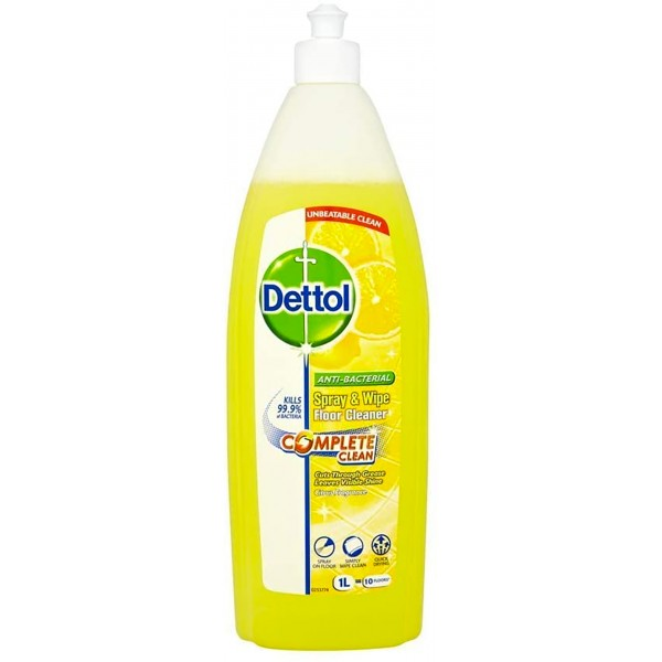 Dettol Spray & Wipe Floor Cleaner, Citrus